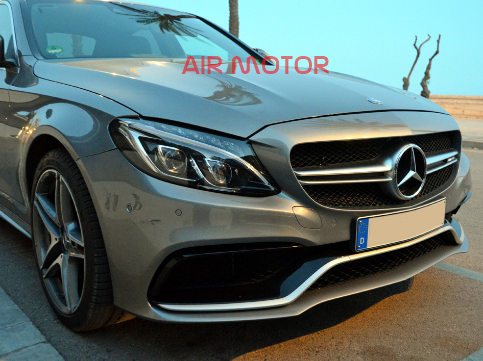 15 silver for mercedes benz w205 c class c63amg type for Types of mercedes benz c class