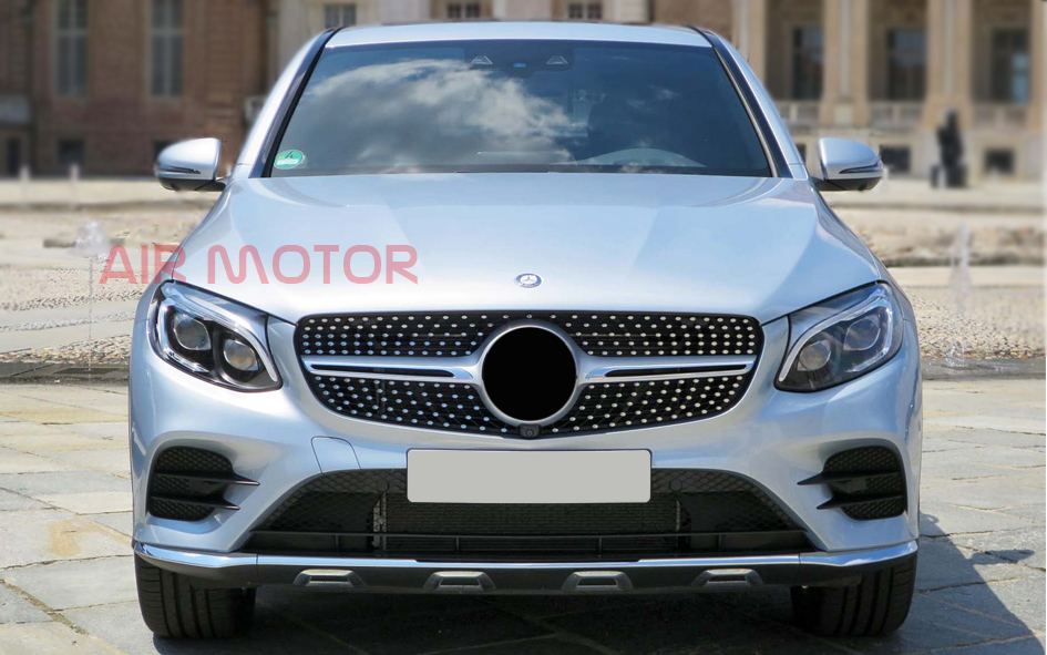 Mercedes Benz W253 Glc Class 43 Amg Type Silver Front