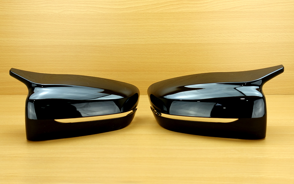 BMW G30 G31 G11 G12 M Performance Side Mirror Cover 2PCS ABS Gloss Black Fit 17