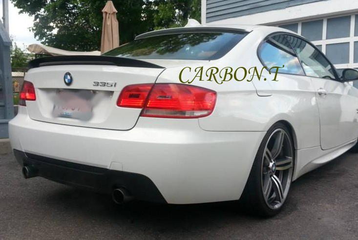 PAINTED BMW E92 2D COUPE A ROOF WING /& HIGH PERFORMANCE TRUNK BOOT SPOILER 335i